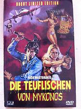 ISLA DE MUERTE 1975 DPP Vídeo Nasty Sin cortar Ltd Edición Alemán Caja rígida
