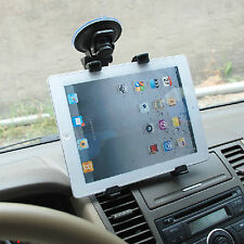 "Car Windshield Desk 360° Top Mount Bracket Holder for iPad 7""-11"" Tablet PC GPS"