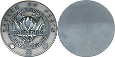 CAMEROUN, Corps National Sapeurs Pompiers, médaille de table