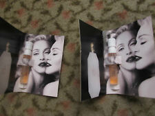 MADONNA MEMORABILIA 'TRUTH OR DARE' SAMPLES IN FOLDERs X2 MDNA TOUR 2012