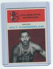 1961 62 FLEER WILT CHAMBERLAIN ROOKIE RC CARD REPRINT PHILADELPHIA WARRIORS # 8