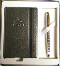 SHEAFFER Prelude Signature Snakeskin Ballpoint Pen & Jotter Set - CHROME & GOLD
