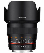Samyang 50mm f1.4 AS UMC - CANON EF Full Frame Prime manual lens -NEW UK