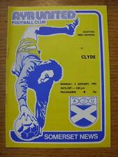 03/01/1983 Ayr United v Clyde   (No obvious faults)