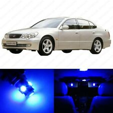 11 x Blue LED Interior Lights Package For 1998 - 2005 Lexus GS300 GS400 GS430