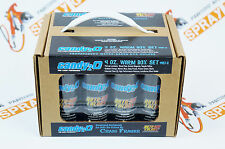 Auto-Air Colors 4oz. Candy2o Box Set Warm. airbrushing custom paints by Createx