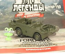 1:43 Ford GPA Militär Amphibie US 4x4 russian DeAgostini #190 URSS UdSSR USSR