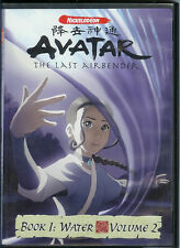"DVD VIDEO ""AVATAR: THE LAST AIRBENDER"" BOOK 1 WATER VOLUME 2 NICKELODEON"