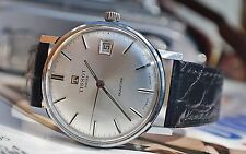 TISSOT SEASTAR CALIBRE 2461 GENTS VINTAGE WATCH c1970's IN BOX-SUPERB!
