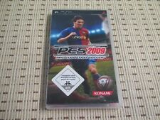 Pro Evolution Soccer 2009 pes 09 para Sony PSP * embalaje original *