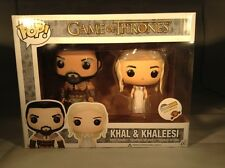 Funko Pop Game Of Thrones ThinkGeek Exclusive Khal And Khaleesi Wedding 2 Pack