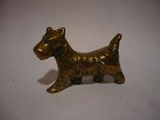 West Highland White / Scottish Terrier Brass Dog Ornament Westie Scottie
