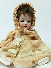 Adorable Genuine Antique Heubach Koppelsdorf 320 Sleep Eye Baby Doll