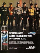 2004 Gillette Young Guns Advertisement--NASCAR Drivers--Earnhardt, Jr/Johnson