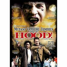 MUTANT VAMPIRE ZOMBIES FROM THE 'HOOD! DVD Signed by the filmmaker Thunder Levin