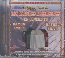SEALED - Grandes Acordeones En Concierto CD NEW Ramon Ayala y Rafael Silva NUEVO