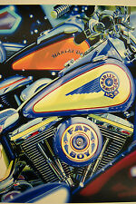 Scott Jacobs LOOK BUT DON'T TOUCH Signed Limited Edn.48/275 Harley Davidson