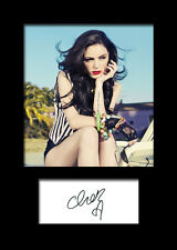 CHER LLOYD #2 Signed Photo Print A5 Mounted Photo Print - FREE DELIVERY