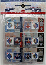 2002 NHL Canada Post Special Edition Stamp Card Set 6 Lafleur Horton Esposito