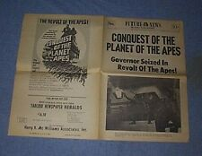 CONQUEST OF THE PLANET OF THE APES Newspaper Herald