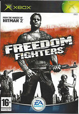 FREEDOM FIGHTERS for Xbox - with box & manual - PAL