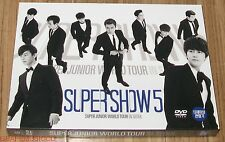 SUPER JUNIOR World Tour In SEOUL SUPER SHOW 5 DVD + PHOTOBOOK SEALED