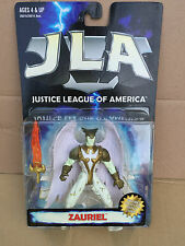 JLA JUSTICE OF LEAGUE HASBRO ZAURIEL MOC VINTAGE NEW!!!