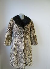 Women's Sz  2  Vintage Spotted MINK Fur Coat MINT