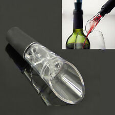 White Red Wine Aerator Pour Spout Bottle Stopper Decanter Pourer Aerating