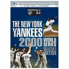 2000 Yankees World Series Collectors Edition, New DVDs