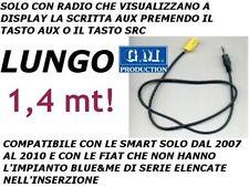 ONLY CABLE AUX MP3 1.4 M FIAT Blaupunkt Grande Punto 500 Panda Musa Idea 159