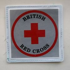 Original, Obsolete British Red Cross Reflective Patch, .