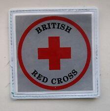 Original, Obsolete British Red Cross Reflective Patch, .