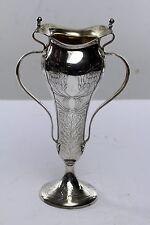 Antique Tiffany Art Nouveau Sterling Silver Vase