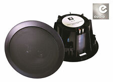 """e-audio Domestic & Commercial Use 6.5"""" 2 Way Ceiling Speakers (8 Ohm 120 W) PAIR"""