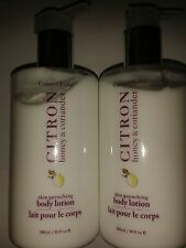 Crabtree and Evelyn Citron Honey & Coriander Body Lotion Large 300ML x 2 = 600ml