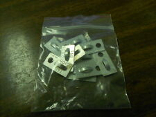 10pc Thomas & Betts TC105 Cable Tie Aluminum Plate Mounting Base