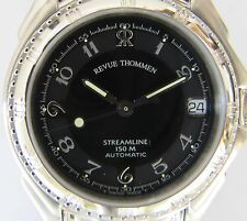 REVUE THOMMEN STREAMLINE 150M AUTOMATIC ETA 2892A2, NEU Swiss Made