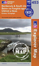 Benbecula and South Uist - OS Explorer ACTIVE Map 453(NEW 2007 folded sheet map)