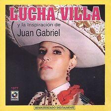 FREE US SH (int'l sh=$0-$3) NEW CD Lucha Villa: Inspiracion De Juan Gabriel