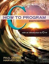 C How to Program Plus MyProgrammingLab with Pearson EText -- Access Card...