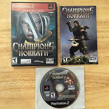 Champions of Norrath Sony Playstation 2 PS2 System Complete Game