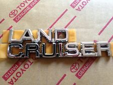 Genuine OEM Toyota Land Cruiser Rear badge 2003-2009 Prado 120
