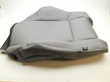 GENUINE OEM TOYOTA TACOMA UPPER SEAT COVER LH GREY VINYL 2015 WITH MAP POCKET