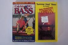 Bass Fishing VHS Video Tape Lot