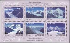 Kyrgyzstan 2011 Glaciers/Mountains/Nature/Tourism/Environment 6v m/s (s2216m)