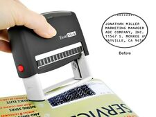 Self-Inking Identity Theft Guard Protection Stamp - Small (TX11) - Black ink