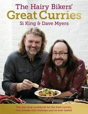 The Hairy Bikers Great Curries - Hardcover Book - Brand New - 0297867334