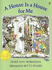 A House Is a House for Me Hoberman, Mary Ann Paperback