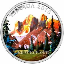 Canada 2016 Canadian Landscapes #1 Rockies Mount Assiniboine $20 Silver Proof